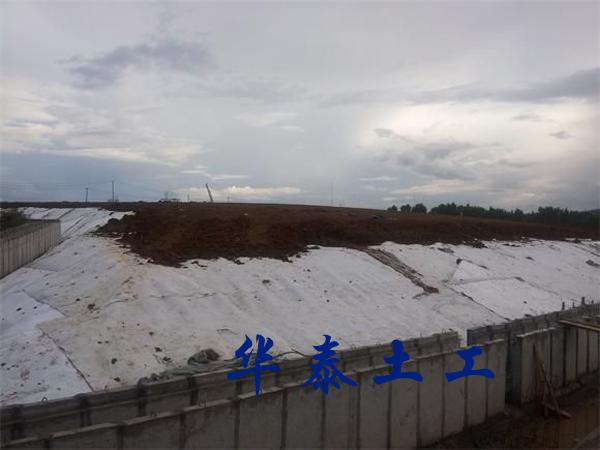 三维排水网施工